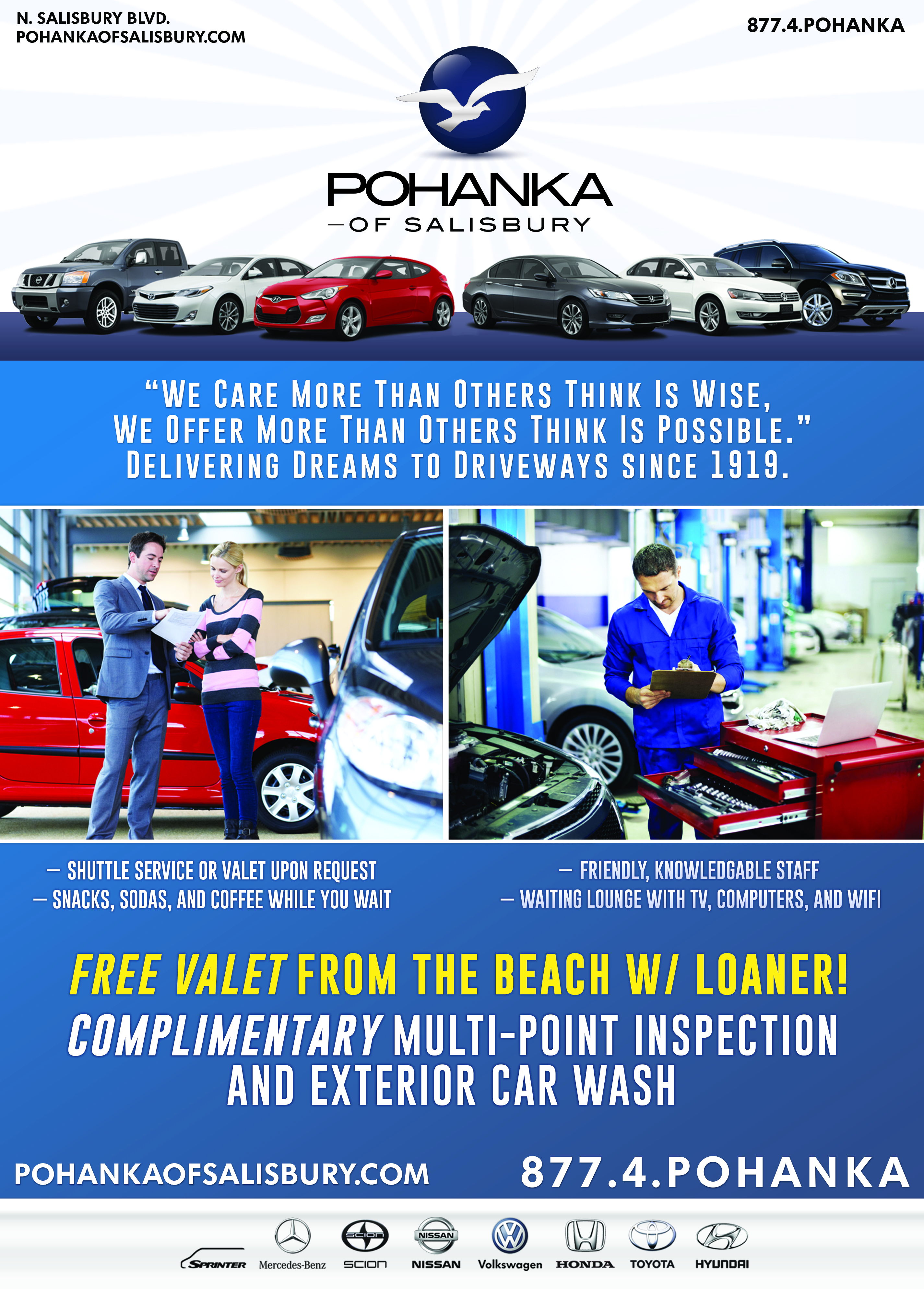 Pohanka Of Salisbury >> Pohanka Of Salisbury New And Used Car Sales And Service Explore
